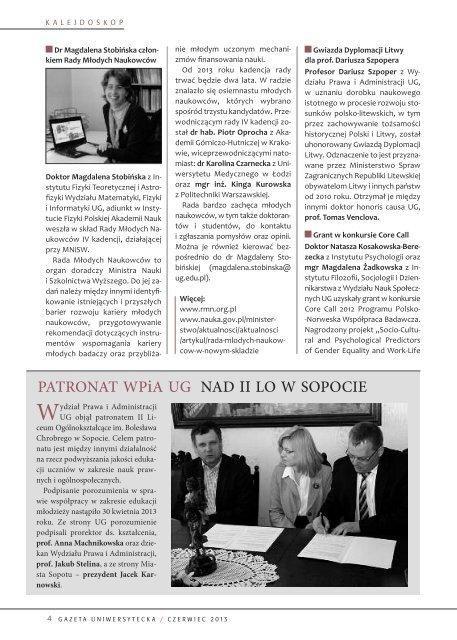Strony 1-28 - Uniwersytet Gdański