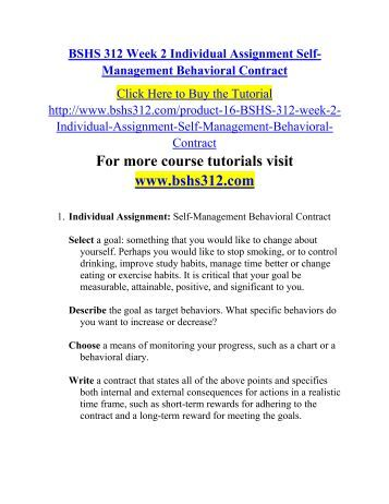 behavioral essay contract Guidelines for supporting adults with challenging behaviors in behavior supports manual 1 of 88 applicable to providers under contract or loa with the.
