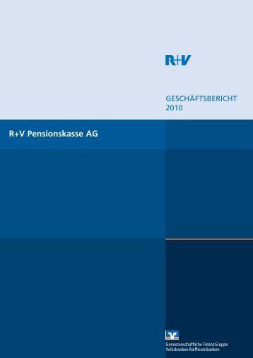 R+V Pensionskasse AG - R+V Versicherung