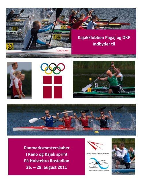 Danmarksmesterskaber i Kano og Kajak 2011