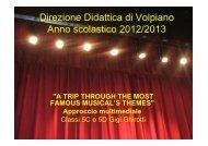 Direzione Didattica di Volpiano Anno scolastico 2012/2013