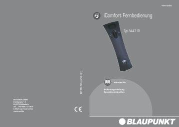 iComfort Fernbedienung - REV-Ritter GmbH