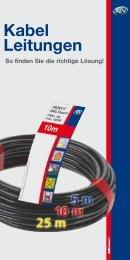 Kabel Leitungen - REV-Ritter GmbH