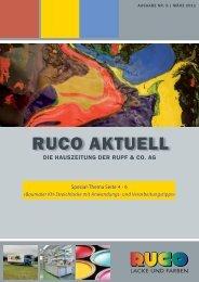 Ausgabe Nr. 5 - März 2011 - Ruco