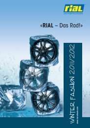 RIAL Winter Katalog 2011/2012