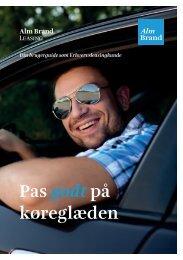 Pas godt på køreglæden