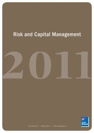 Risk and Capital Management