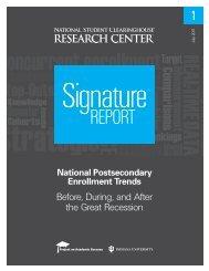 National Postsecondary Enrollment Trends - ERIC - U.S. ...