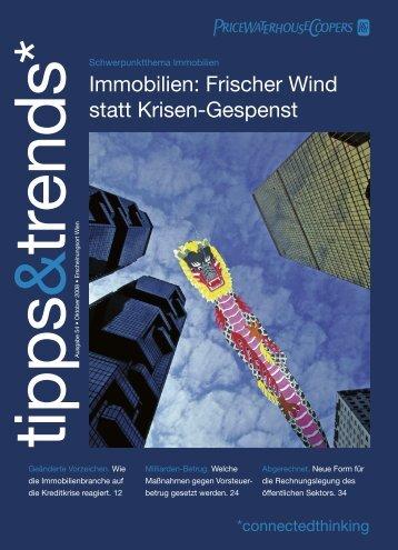 Immobilien: Frischer Wind statt Krisen-Gespenst - PwC