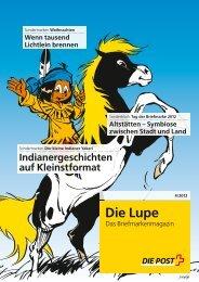 Die Lupe 04/2012Link wird in einem - Die Schweizerische Post