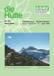 die Hütte - Deutscher Alpenverein Sektion Hildesheim