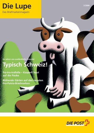 Die Lupe 02/2006 - Die Schweizerische Post