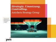 Autofacts Strategy Group - PricewaterhouseCoopers AG