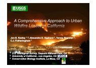 A Comprehensive Approach to Urban Wildfire Losses in California