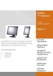 Desktop TFT Monitore