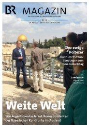 BR-Magazin 18/2015
