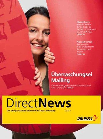 DirectNews, Die Auflagestärkste Zeitschrift  für Direct Marketing