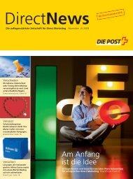 Direct News, Die auflagenstärkste Zeitschrift für Direct Marketing