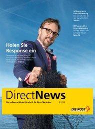 Holen Sie Response ein - Die Schweizerische Post