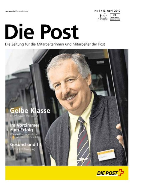 Die Post Personalzeitung Die Schweizerische Post