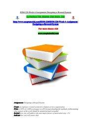 HSM 220 Week 4 Assignment Designing a Reward System/snaptutorial