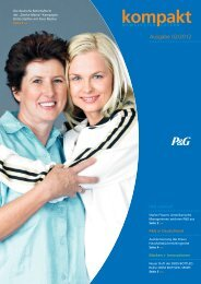PG Kompakt 02 2012 - Procter & Gamble