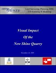 Of the New Shine Quarry