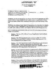 JeffCo-Pope MPR Development Agreement Appendix B ... - Pl-wa.org