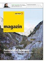 magazin, Ausgabe juni  2011 - Die Schweizerische Post