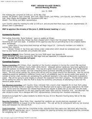 PLVC Minutes GM 2008-07-15 - Pl-wa.org