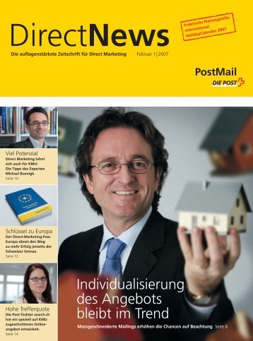 DirectNews - Die Schweizerische Post
