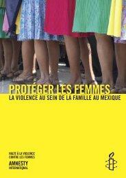 PROTÉGER LES FEMMES