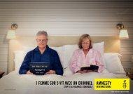 1 femme sur 5 vit avec un criminel - Amnesty International