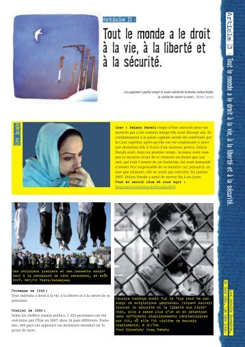 fiche jeune - Amnesty International