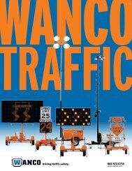 Variable Message Signs - Wanco