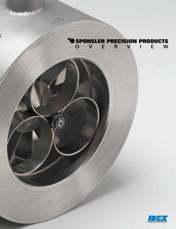 Precision Turbine Flowmeters Wafer Series Flowmeters