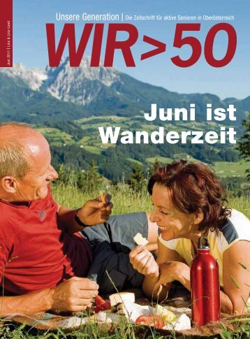 Juni ist Wanderzeit - Pensionistenverband Oberösterreich