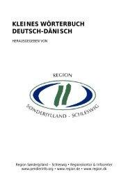 kleines wörterbuch deutsch-dänisch - Region Sønderjylland ...