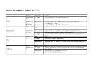 Distrikt 46 - Møder i 1. kvartal 2012 -13