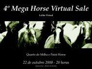 4º Mega Horse Virtual Sale