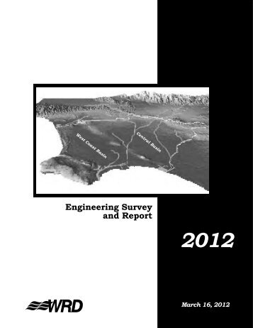 Engineering Survey and Report - Water Replenishment District of ...