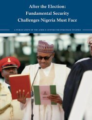 After the Election Fundamental Security Challenges Nigeria Must Face