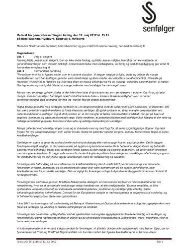 Referat fra generalforsamlingen lørdag den 12. maj 2012 kl. 15.15 ...