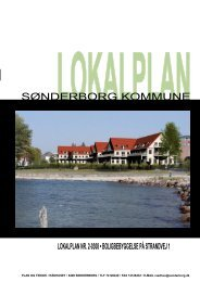 lokalplan nr. 2-0308 • boligbebyggelse på strandvej 1