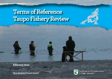 Taupo Fishery Review