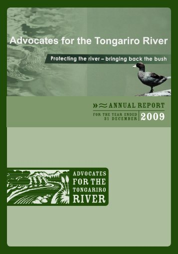 31 december - Advocates for the Tongariro River