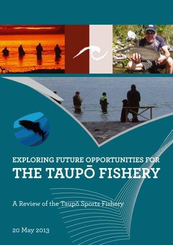 the Taupō Fishery