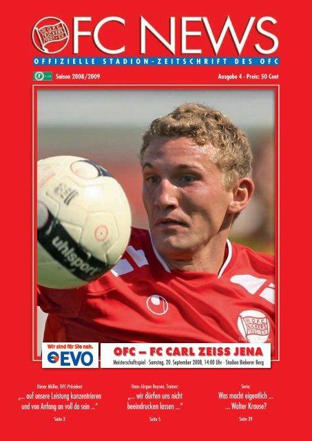 FC Kaiserslautern Stuttgarter Kickers Programm 1996//97 1