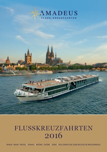 Amadeus Flusskreuzfahrten 2016