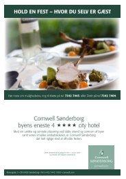 Comwell Sønderborg byens eneste 4 city hotel